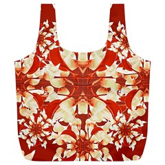 Digital Decorative Ornament Artwork Reusable Bag (xl)