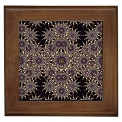 Luxury Ornament Refined Artwork Framed Ceramic Tile
