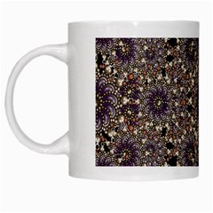 Luxury Ornament Refined Artwork White Coffee Mug
