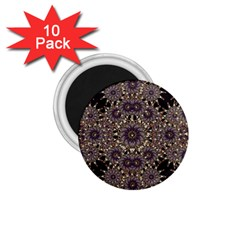 Luxury Ornament Refined Artwork 1.75  Button Magnet (10 pack)
