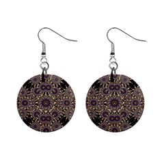 Luxury Ornament Refined Artwork Mini Button Earrings