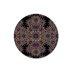 Luxury Ornament Refined Artwork Drink Coasters 4 Pack (Round)
