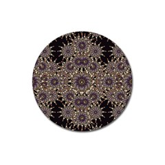 Luxury Ornament Refined Artwork Magnet 3  (round)