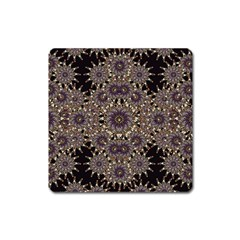 Luxury Ornament Refined Artwork Magnet (Square)