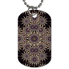 Luxury Ornament Refined Artwork Dog Tag (One Sided)