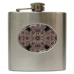 Luxury Ornament Refined Artwork Hip Flask