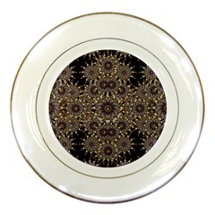 Luxury Ornament Refined Artwork Porcelain Display Plate