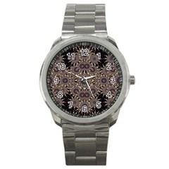 Luxury Ornament Refined Artwork Sport Metal Watch