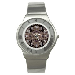 Luxury Ornament Refined Artwork Stainless Steel Watch (slim)