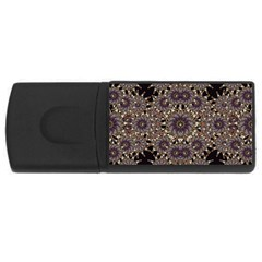 Luxury Ornament Refined Artwork 4gb Usb Flash Drive (rectangle)