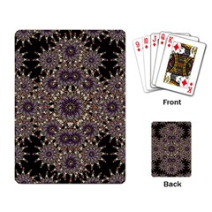 Luxury Ornament Refined Artwork Playing Cards Single Design
