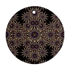 Luxury Ornament Refined Artwork Round Ornament (Two Sides)