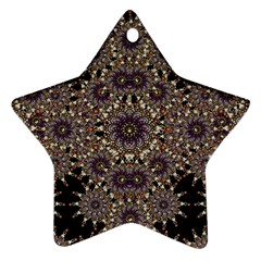 Luxury Ornament Refined Artwork Star Ornament (Two Sides)