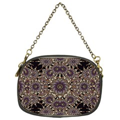 Luxury Ornament Refined Artwork Chain Purse (One Side)