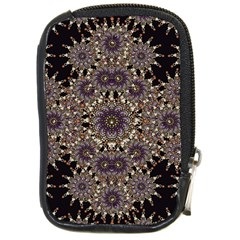 Luxury Ornament Refined Artwork Compact Camera Leather Case