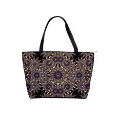 Luxury Ornament Refined Artwork Large Shoulder Bag