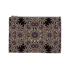 Luxury Ornament Refined Artwork Cosmetic Bag (Large)