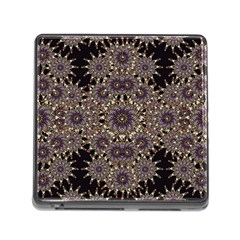 Luxury Ornament Refined Artwork Memory Card Reader With Storage (square)