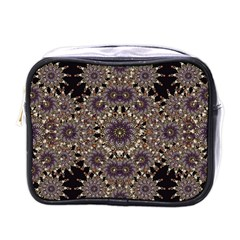 Luxury Ornament Refined Artwork Mini Travel Toiletry Bag (One Side)