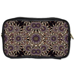 Luxury Ornament Refined Artwork Travel Toiletry Bag (two Sides)