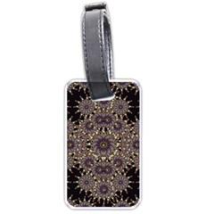 Luxury Ornament Refined Artwork Luggage Tag (Two Sides)