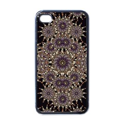 Luxury Ornament Refined Artwork Apple iPhone 4 Case (Black)