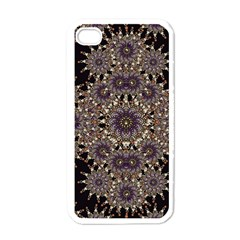 Luxury Ornament Refined Artwork Apple Iphone 4 Case (white)