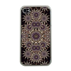 Luxury Ornament Refined Artwork Apple iPhone 4 Case (Clear)