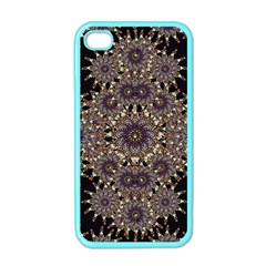 Luxury Ornament Refined Artwork Apple iPhone 4 Case (Color)