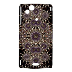 Luxury Ornament Refined Artwork Sony Xperia Arc Hardshell Case