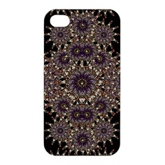 Luxury Ornament Refined Artwork Apple iPhone 4/4S Premium Hardshell Case