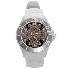 Luxury Ornament Refined Artwork Plastic Sport Watch (Large)