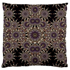 Luxury Ornament Refined Artwork Large Cushion Case (single Sided)