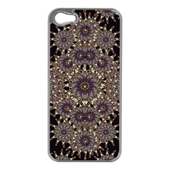 Luxury Ornament Refined Artwork Apple iPhone 5 Case (Silver)