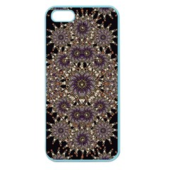 Luxury Ornament Refined Artwork Apple Seamless iPhone 5 Case (Color)