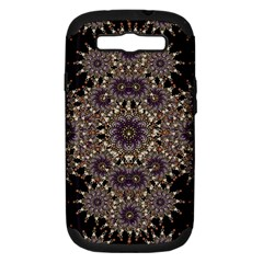 Luxury Ornament Refined Artwork Samsung Galaxy S III Hardshell Case (PC+Silicone)