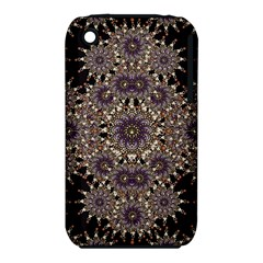 Luxury Ornament Refined Artwork Apple iPhone 3G/3GS Hardshell Case (PC+Silicone)
