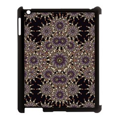 Luxury Ornament Refined Artwork Apple iPad 3/4 Case (Black)