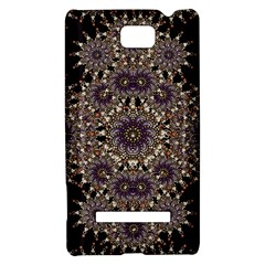 Luxury Ornament Refined Artwork HTC 8S Hardshell Case