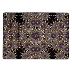 Luxury Ornament Refined Artwork Samsung Galaxy Tab 10.1  P7500 Flip Case