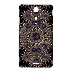 Luxury Ornament Refined Artwork Sony Xperia TX Hardshell Case