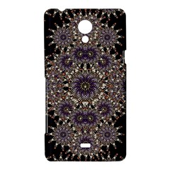 Luxury Ornament Refined Artwork Sony Xperia T Hardshell Case