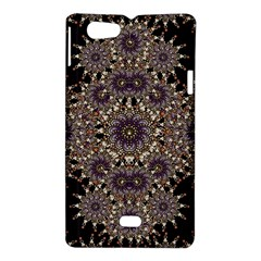 Luxury Ornament Refined Artwork Sony Xperia Miro Hardshell Case