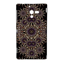 Luxury Ornament Refined Artwork Sony Xperia ZL (L35H) Hardshell Case