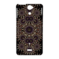 Luxury Ornament Refined Artwork Sony Xperia V Hardshell Case