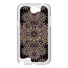 Luxury Ornament Refined Artwork Samsung Galaxy Note 2 Case (White)
