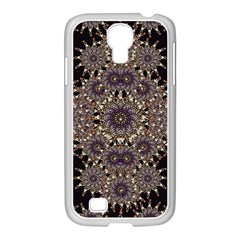 Luxury Ornament Refined Artwork Samsung Galaxy S4 I9500/ I9505 Case (white)
