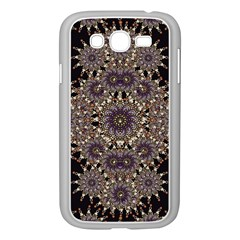 Luxury Ornament Refined Artwork Samsung Galaxy Grand DUOS I9082 Case (White)