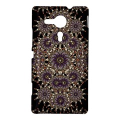 Luxury Ornament Refined Artwork Sony Xperia SP M35H Hardshell Case