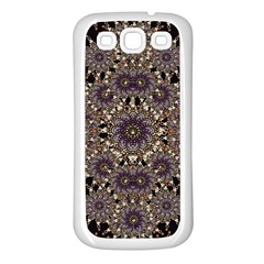 Luxury Ornament Refined Artwork Samsung Galaxy S3 Back Case (white)